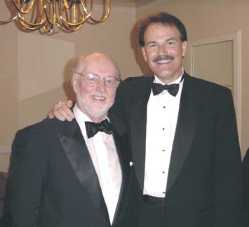 Dan with John Williams